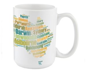 Larger Durham Style - 15oz Ceramic Photo Mugs