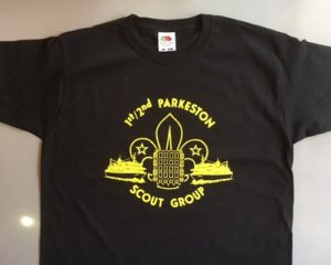 TL Productions printed Scouts T-shirt