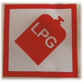 LPG-Sticker