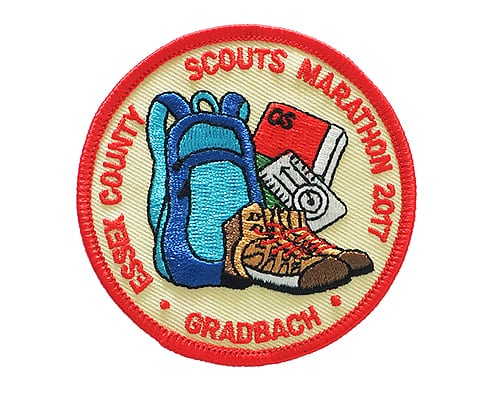 Scouts embroidered badge