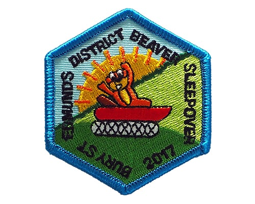 Beavers embroidered badge