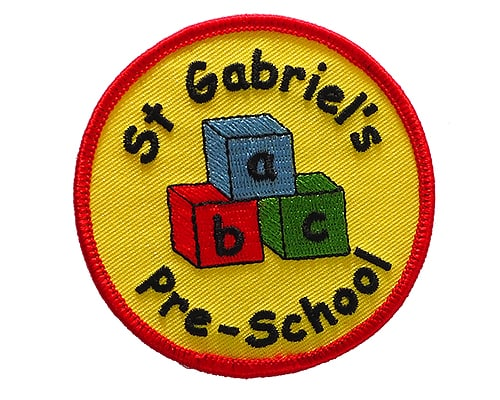 Pre School embroidered badge